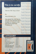 Sold Secure Certificate - Protector 19mm Chain