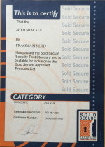 Sold Secure Certificate - Shed Shackle