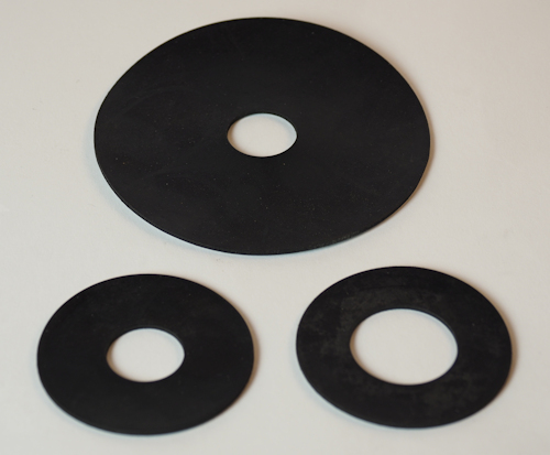 Anti-Pinch Pin Rubber Protective Washers
