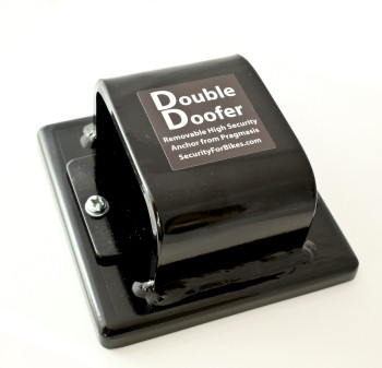 Double Doofer Removable Ground Anchor - Top View