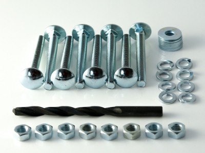 HS1 Heavy Duty Hasp and Staple - Fitting Kit