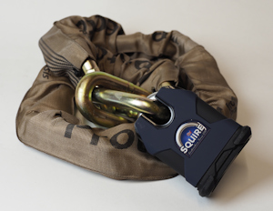 Package Deal: Protector 19mm Chain, Squire SS80CS-NW4 Lock