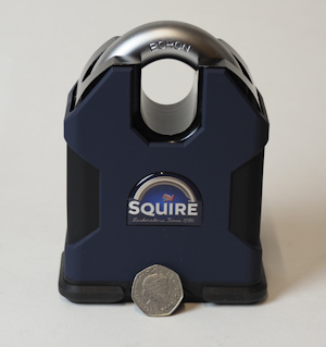 Squire SS100CS Stronghold Padlock with R1 Restricted Cylinder