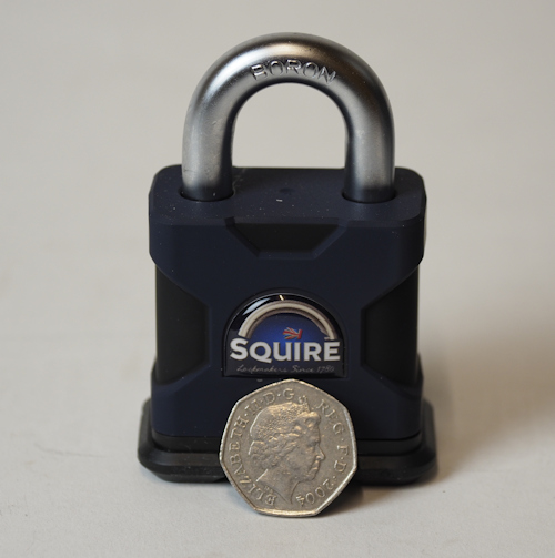 Squire SS50S Stronghold Padlock Open Shackle