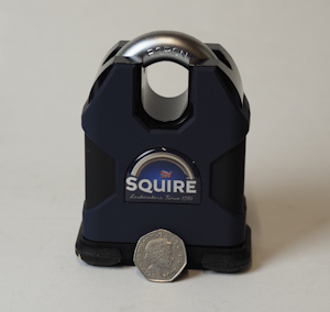 Squire SS80CS Stronghold Padlock with NW4 Extreme Cylinder