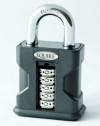 Squire SS50-Combi Recodable Combination Padlock Open Shackle